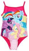 Girls My Little Pony Fluttershy Rainbow Dash MLP Swimming Costume sizes from 2 to 6 Years