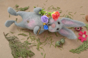 Wool Toy For Home Hare
