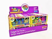 Tangle Jr. Brain Tools Combo Pack of 3 ~ Classic, Textured, Metallics by Tangle