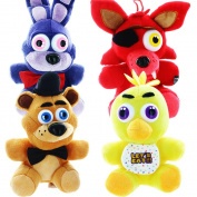 Five Nights At Freddy's 17cm Plush Set of 4