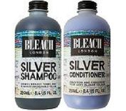 (2 PACK) Bleach London Silver Shampoo x 250ml & Bleach London Silver Conditioner x 250ml