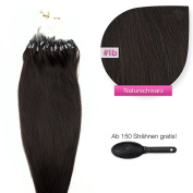 300 x 1g Indian Remy 100% Real Human Hair Micro Ring Extensions Human Hair Extensions 60 cm