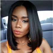 Eseewigs Straight Black Cheap Bob Wigs Heat Resistant Simulation Scalp Synthetic Wig For Women