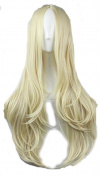 75cm Long Hair Heat Resistant Curly Cosplay Wig