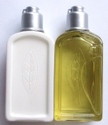 L'occitane Verbena Shower Gel 75ml & Body Lotion75ml Travel Size DUO