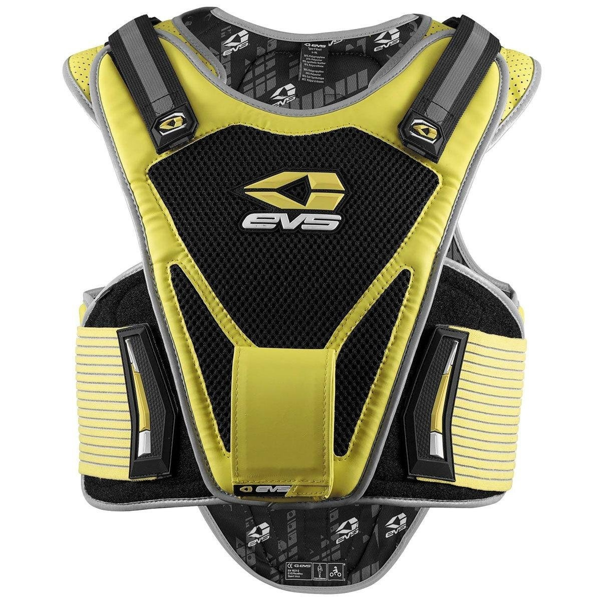 (Small/Medium, Yellow) - EVS Mil-Spec Hi-Viz Sport Vest - Small/Medium