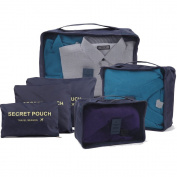 Kansoon Travel Storage set 6 PCS, Packing cubes, Travel Accessories Organisers, Versatile travel packing bags