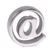 Wohnling wl1.913 Bookend, Drawing Design, Aluminium, Silver, 15 x 4 x 15 cm