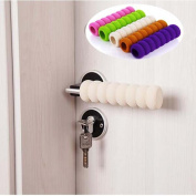 Union Tesco 5 Piece Baby Safety Door Handle Protector Guard Cushion Anticollision Bumper Strip
