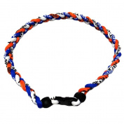 USA Star Nylon Baseball Braided Sports Softball Necklace