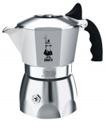 Bialetti 0006184 Brikka 4 Cup Aluminium Coffee Pot Silver 10cm x 18cm x 20cm