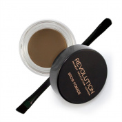 Makeup Revolution Brow Pomade With Brush - Medium Brown