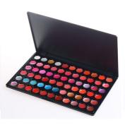 Accessotech 66 Colour Lip Gloss Palette Makeup Set Cosmetic Lipstick Beauty Case Lipgloss