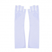 HimanJie Anti-Ultraviolet Open-Toed Nail Art Gloves with Sunscreen