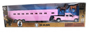 M & F Western Girls' Dodge Truck And Horse Trailer Toy Set Pink One Size