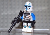 MINIFIGURE CAPTAIN REX WITH DUAL BLASTERS CLONE TROOPER by USA