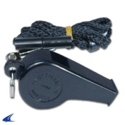 CHAMPRO A333 LARGE PLASTIC WHISTLE W LANYARD REF REFEREE A333