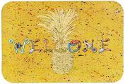 """Caroline's Treasures 8557-JCMT """"Pineapple"""" Kitchen or Bath Mat, 60cm by 90cm , Multicolor"""