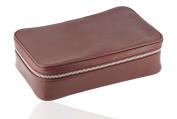 David Hampton Oxford Leather Wash Bag