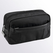 New DN699 01 Wash Bag Black Polyester/Leather D & N Bags & More/lefox