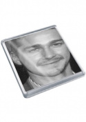 SHIA LABEOUF - Original Art Coaster #js002