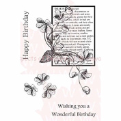 Woodware Clear Stamps 3.5X5.5 Sheet-Oxalis by Woodware Craft Collection Ltd