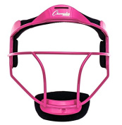 New Champion Sports FMYPK Softball Youth Pitcher Fielders Mask Wide Vision Pink