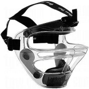 Game Face® Large Clear Sports Safety Mask with Black T-Harness by Game Face