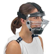 Game Face Large Clear Sports Safety Mask with Black T-Harness