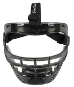 Game Face Large Smoke Sports Safety Mask with Black T-Harness