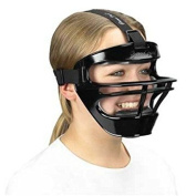 Game Face® Large Black Sports Safety Mask with Black T-Harness