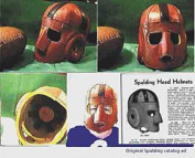 Executioner Face Guard Leather Football Helmet