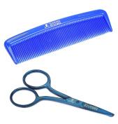 The Bluebeards Revenge Beard & Moustache Scissors and Comb by The Bluebeards Revenge