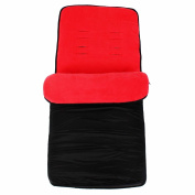 Universal Footmuff To Fit Phil And Teds - Red
