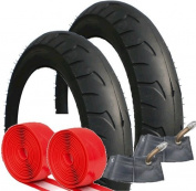 QUINNY BUZZ TYRE AND TUBE SET WITH ADDED PUNCTURE PROTECTION SIZE 12 1/2 X 2 1/4