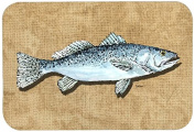 "Caroline's Treasures 8809CMT ""Speckled Trout"" Kitchen or Bath Mat, 20"" by 30"", Multicolor"