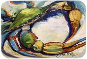 """Caroline's Treasures JMK1091JCMT """"Blue Crab"""" Kitchen or Bath Mat, 60cm by 90cm , Multicolor"""
