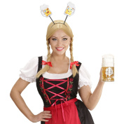 Oktoberfest headband Beer Alice band stein headdress Funny headgear mug ale Oktoberfest  costume accessories Wiesn outfit