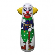 Jet Creations Inflatable Clown Punching Bag, 42 by Jet Creations