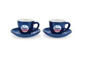 'Vespa Servizio espresso cup Espresso Cups/Set of 2, Blue