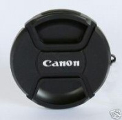 55mm Lens Cap For Canon Digital Camera came with safety cord to attach to the camera