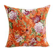 """Xinantime Faux suede Square Decorative Throw Pillow Case Cushion Cover Flower 46cm X18 """""""