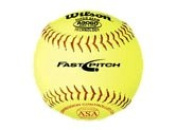 Wilson ASA Fast-Pitch 30cm Leather Softball