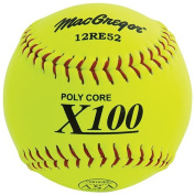 MacGregor X52RE ASA Slow Pitch Composite Softball, 30cm - One Dozen
