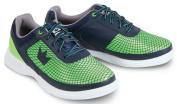 Brunswick Frenzy Mens Bowling Shoe Navy/Green