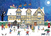 Alison Gardiner 'Christmas at the Old Town House' Large Traditional Advent Calendar by Alison Gardiner