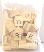 Wooden Alphabet -100Pcs