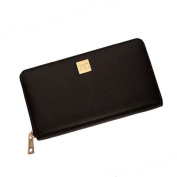 Rc Black Leather Wallet