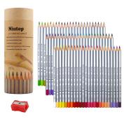 NIUTOP 72 Coloured Pencils, Marco Raffine fine art Drawing Pencils For Artist Sketch / Adult Colouring Books/Secret Garden Colouring Book