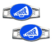 """Cheer Megaphone"" Paracord / Shoe Cheerleading Charms"